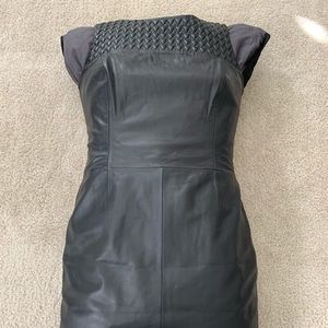 Hugo Boss Leather Dress